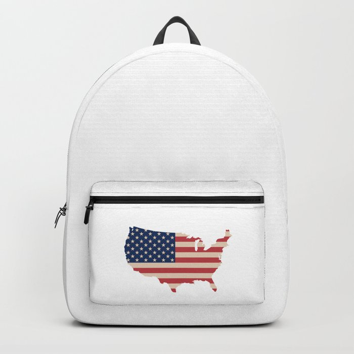 United States of America Map Backpack