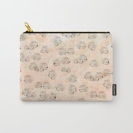 Everything is Peachy Porcupines Carry-All Pouch