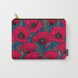 Night poppy garden  Carry-All Pouch