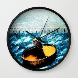 Nada en la nevera Wall Clock
