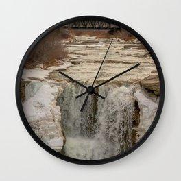 Soggy Trails Wall Clock