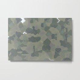 Pixel Sort: Random Seed / 1500 Steps / 200 Seeds Metal Print