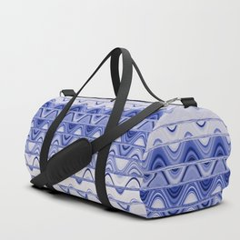 Aztec pattern light blue Duffle Bag