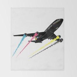 Ink Jet Throw Blanket