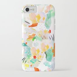 toto: abstract painting iPhone Case