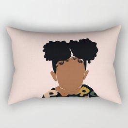 Two Puffs Rectangular Pillow
