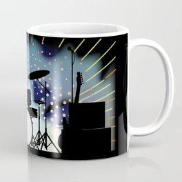 Bright Rock Band Stage Coffee Mug
