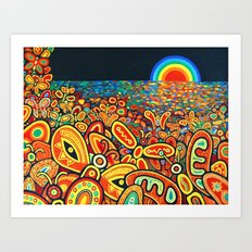 The Harmony of Life and Death Art Print