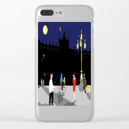 Royal Palace of Madrid Clear iPhone Case