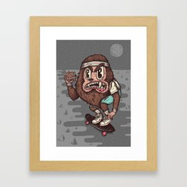 The Awesome Werewolf. Framed Art Print