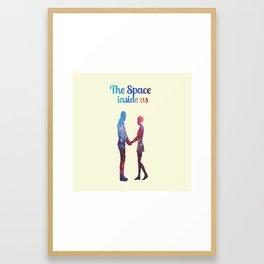 The Space inside us Framed Art Print
