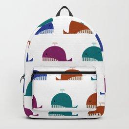 Cute Whales Backpack