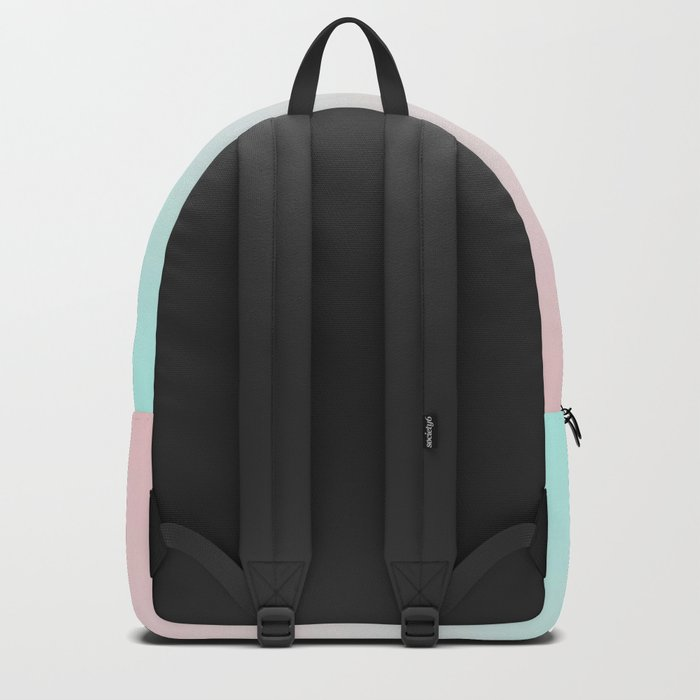 Pastel Ombre Millennial Pink Mint Gradient Backpack
