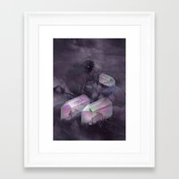 garden Framed Art Prints featuring Garden by Martynas Pavilonis