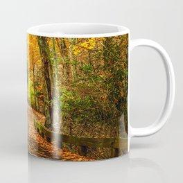 A Path through Autumn Coffee Mug