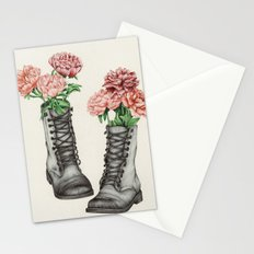 Shoe Bouquet III Stationery Cards