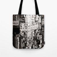 italy Tote Bags featuring Italy  by Kráľ Juraj