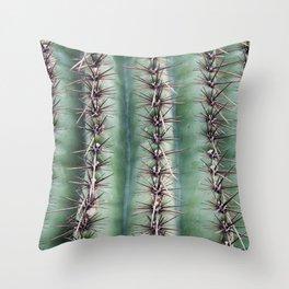 Cactus Abstractus Throw Pillow