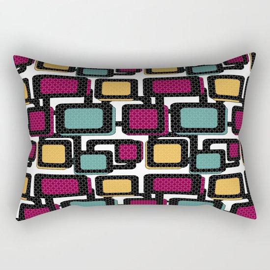 Seamless pattern with geometric elements Rectangular Pillow