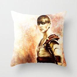 Mad Max : Fury Road - Furiosa Throw Pillow