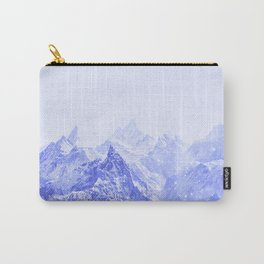 Mountains Blue Carry-All Pouch