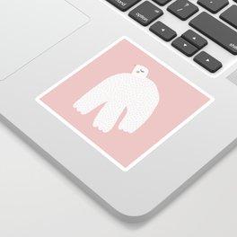 White Dove Sticker
