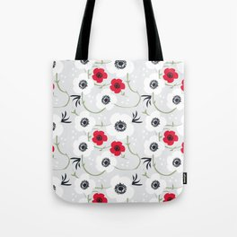 Anemone Print Tote Bag