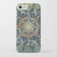 chakra iPhone & iPod Cases featuring Heart Chakra by brenda erickson
