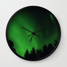 The Northern Lights 05 Wall Clock