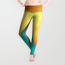 Triangle Composition XIII Leggings