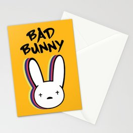 Bad bunny Stationery Cards