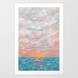 Summer's End Art Print