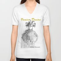 venice V-neck T-shirts featuring Venice by Alex Coghe