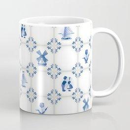 Delft Blue Holland Pottery Coffee Mug