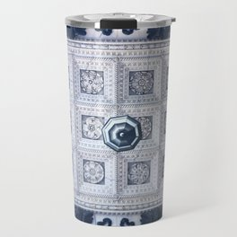 The ceiling of the hall of St. Isaac's Cathedral Travel Mug