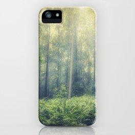 serene woodlands iPhone Case