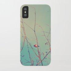 Bluebird Blue iPhone X Slim Case