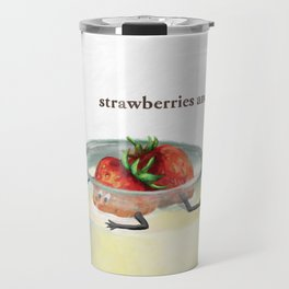 La Cuisine Fusion - Strawberries with Mayo Travel Mug