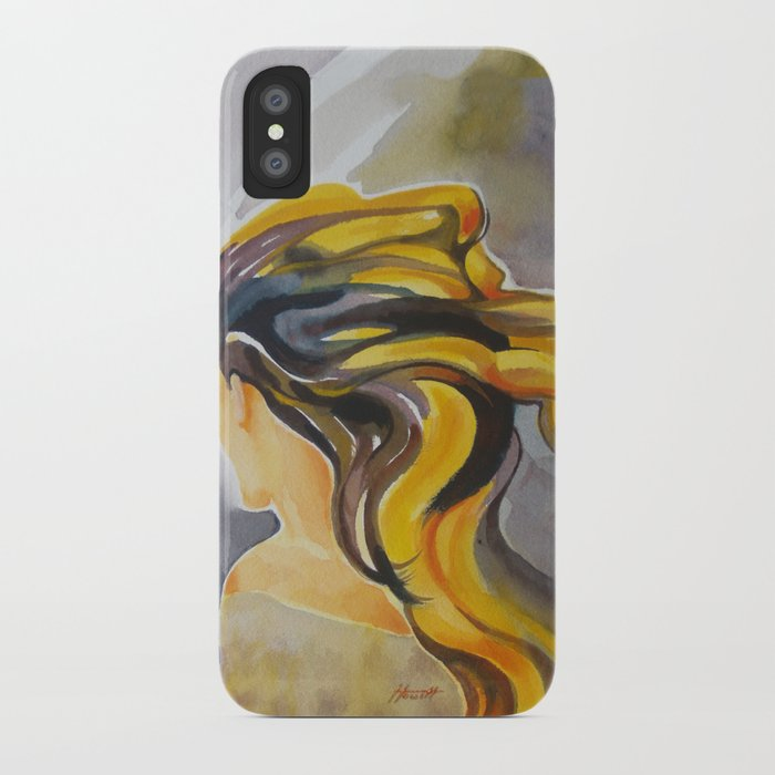 Blowin' In The Wind iPhone Case