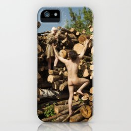 Champagne Deluxe iPhone Case