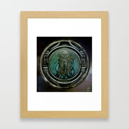 """Astrological Mechanism - Aquarius"" Framed Art Print"
