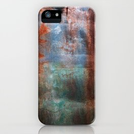 Prison Wall Waterfall iPhone Case