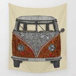 The camper Wall Tapestry