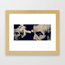 ABE LINCOLN'S HANDSOME HEADSHOT Framed Art Print