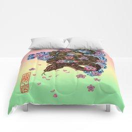 tattoo snake  Comforters