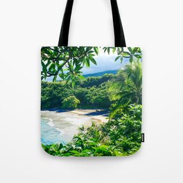Hamoa Beach Hana Maui Hawaii Tote Bag