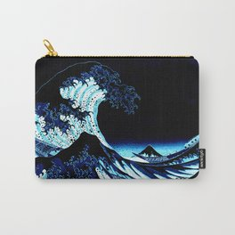 the Great Wave Blue Carry-All Pouch