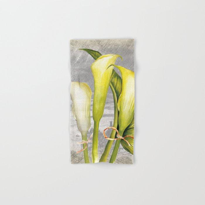 Macro Flower #8 Hand & Bath Towel