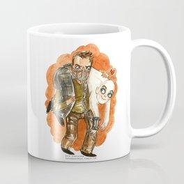 Mad Max and Nux Hug Coffee Mug