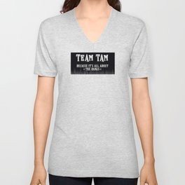 Team Tam Unisex V-Neck